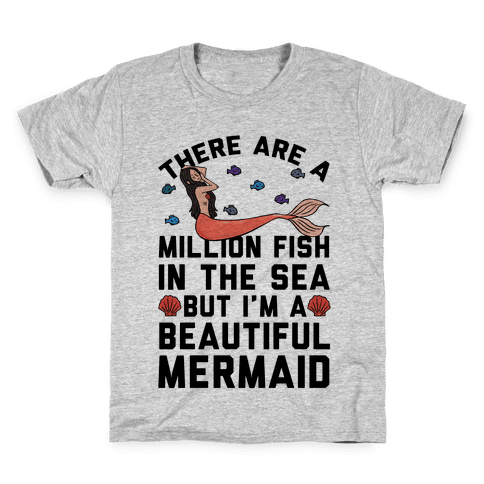 There Are A Million Fish In The Sea Kids T-Shirt