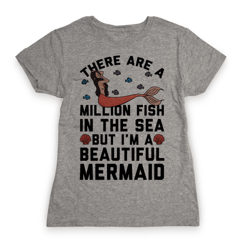 There Are A Million Fish In The Sea Womens T-Shirt