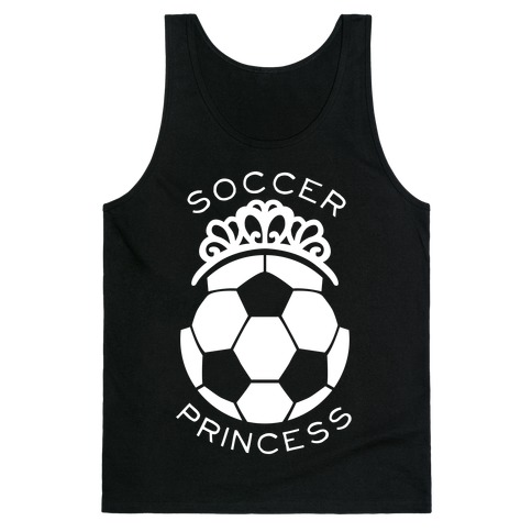 Soccer Princess (Tank) Tank Top