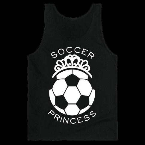 Soccer Princess (Tank) Tank Top