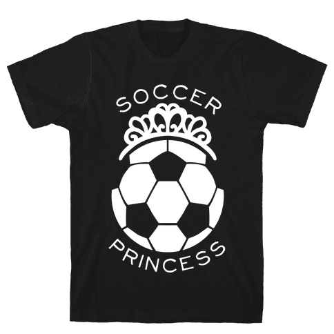 Soccer Princess (Tank) Mens T-Shirt