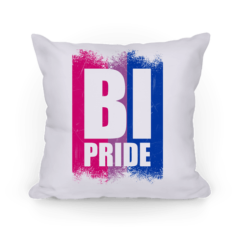 Bi Pride Pillow