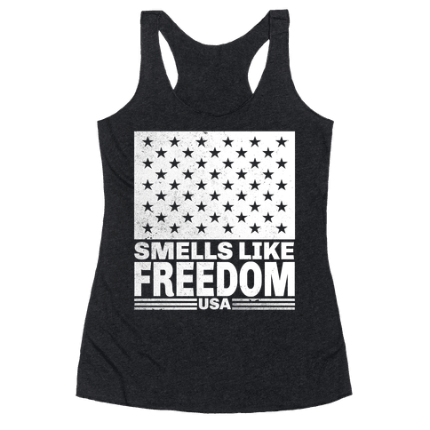 Smells Like Freedom Racerback Tank Top