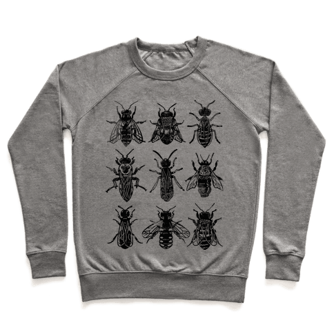 Bee Species Pullover