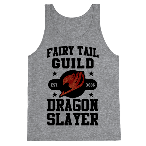Fairy Tail Guild Dragon Slayer Tank Top