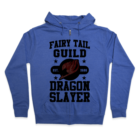Fairy Tail Guild Dragon Slayer Zip Hoodie