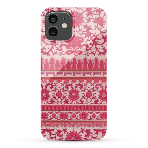 Ornate Pattern Case (Pink) Phone Case