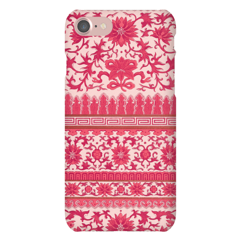 Ornate Pattern Case (Pink)