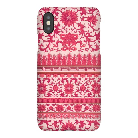 Ornate Pattern Case (Pink) Phone Case