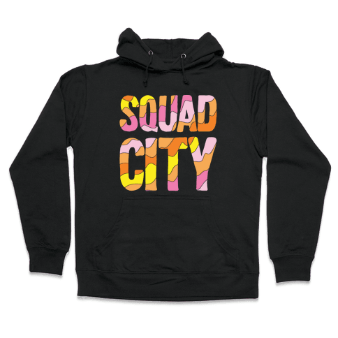 Squad City Hooded Sweatshirt