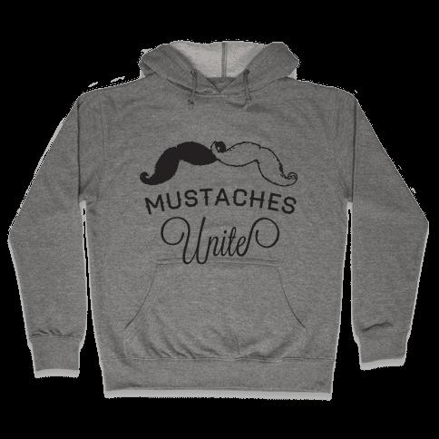 Mo-nited (Black and white) Hooded Sweatshirt