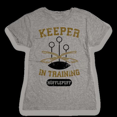 Keeper In Training (Hufflepuff) Womens T-Shirt