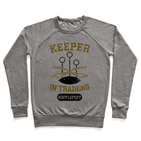 Keeper In Training (Hufflepuff) Pullover