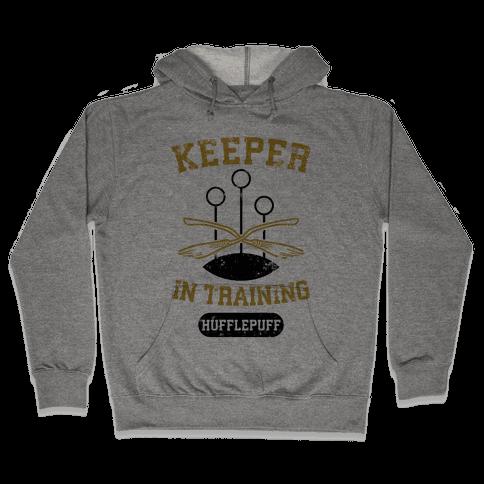 Keeper In Training (Hufflepuff) Hooded Sweatshirt