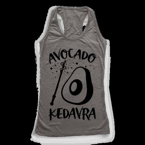 Avocado Kedavra Racerback Tank Top