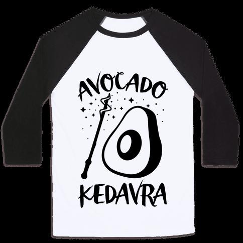 Avocado Kedavra Baseball Tee