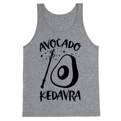 Avocado Kedavra Tank Top