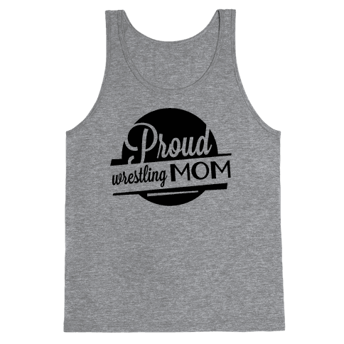 Proud Wrestling Mom Tank Top