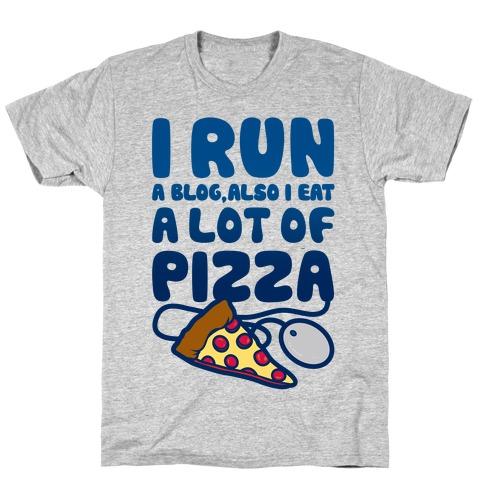 I Run A Blog Mens/Unisex T-Shirt