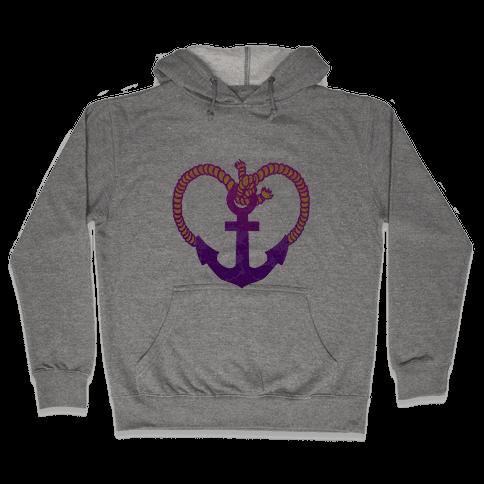 Anchor My Heart Hooded Sweatshirt