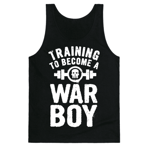 Training to Become a War Boy Tank Top