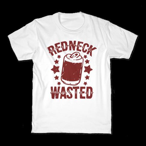 Redneck Wasted Kids T-Shirt