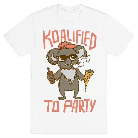 Koalified to Party Mens T-Shirt
