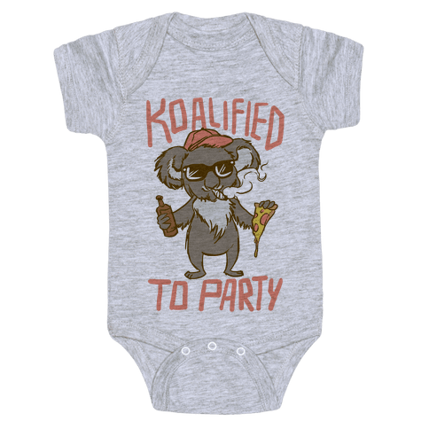 Koalified to Party Baby Onesy