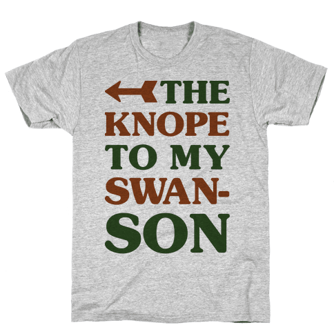The Knope to my Swanson Mens T-Shirt