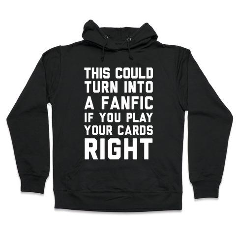 Fandom Fanfics Zip Hooded Sweatshirts | LookHUMAN