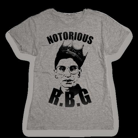 Notorious RBG (Ruth Bader Ginsburg) Womens T-Shirt