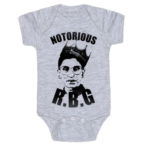 Notorious RBG (Ruth Bader Ginsburg) Baby Onesy