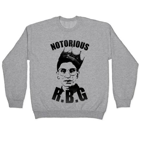 Notorious RBG (Ruth Bader Ginsburg) Pullover