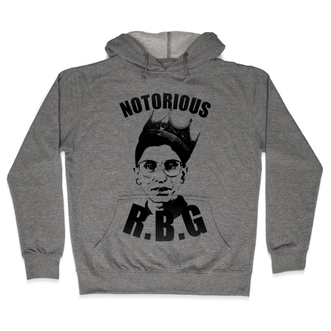 Notorious RBG (Ruth Bader Ginsburg) Hooded Sweatshirt