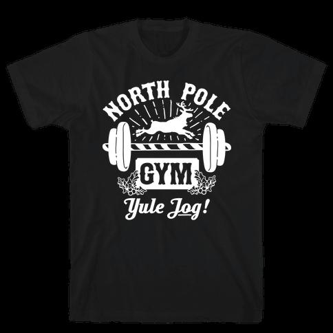 North Pole Gym Mens T-Shirt