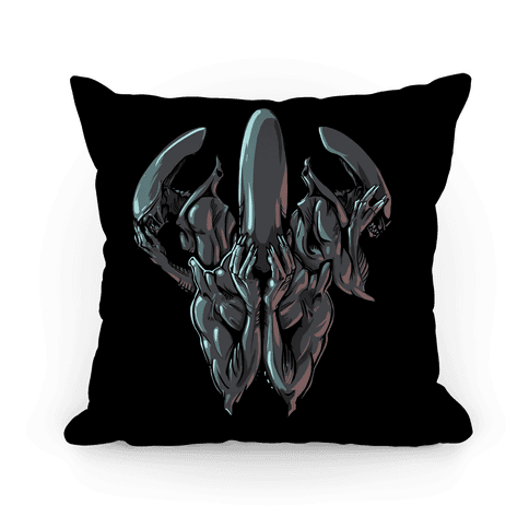 Hear No Evil, Speak No Evil, See No Evil Pillow
