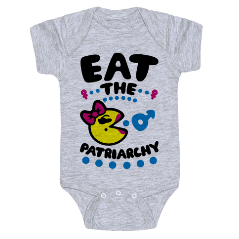 Eat The Patriarchy Baby Onesy
