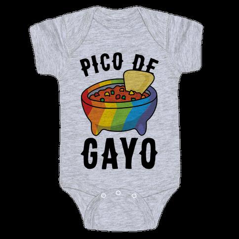 Pico De Gayo Baby Onesy