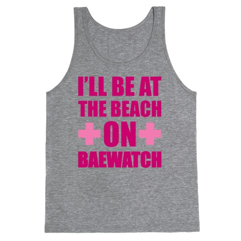 Baewatch Tank Top