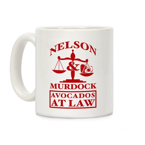 Nelson & Murdock Avocados At Law Coffee Mug