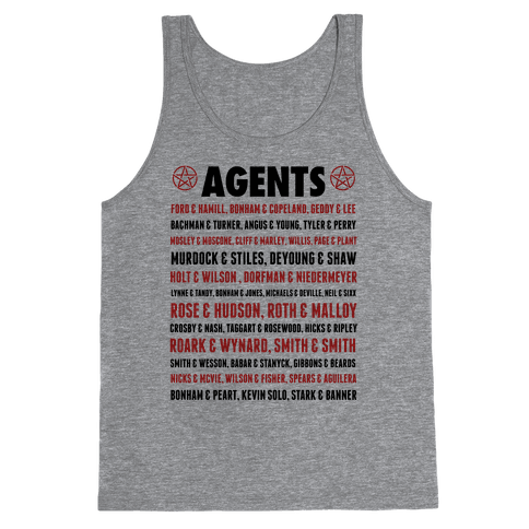 Winchester FBI Agents Tank Top
