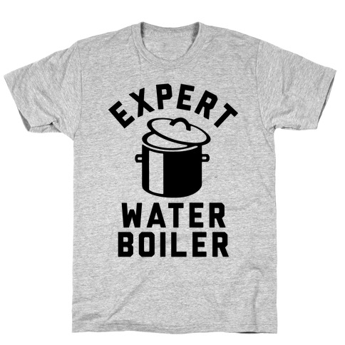 Expert Water Boiler Mens T-Shirt