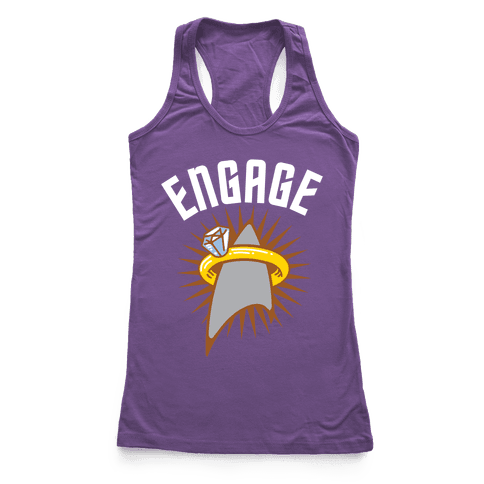 Engage! Racerback Tank Top