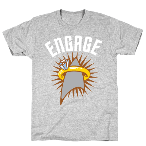 Engage! Mens T-Shirt