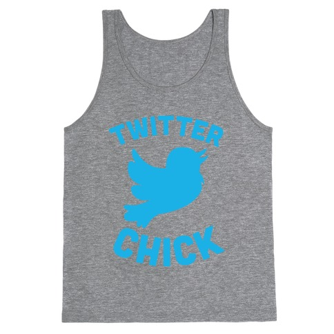 Twitter Chick Tank Top