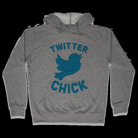 Twitter Chick Hooded Sweatshirt