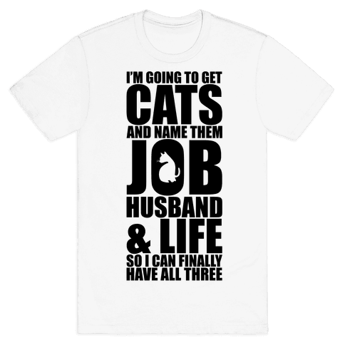 Cats Mens T-Shirt