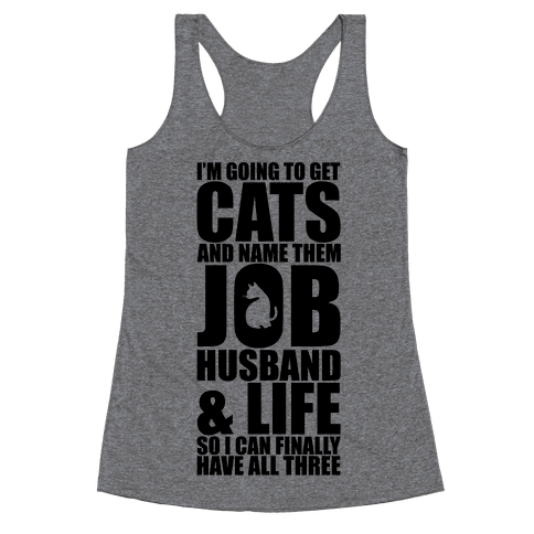Cats Racerback Tank Top