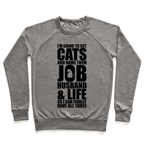 Cats Pullover
