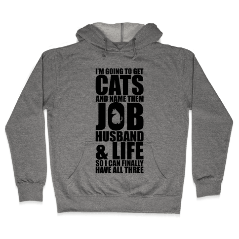 Cats Hooded Sweatshirt